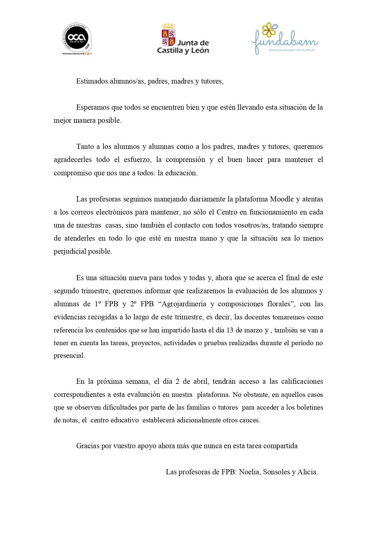 Carta padres 27